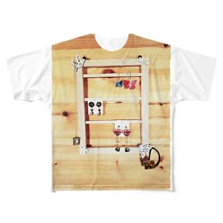 アクセサリーホルダー Full graphic T-shirts