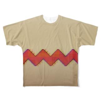 ghostpia 小夜子なりきり Full graphic T-shirts