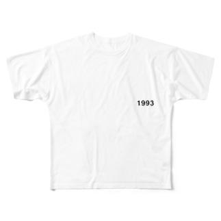 1993 Full graphic T-shirts