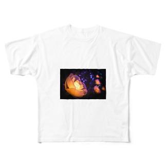 衰えない輝き Full graphic T-shirts
