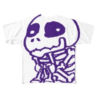 ガシャドクロさん Full graphic T-shirts