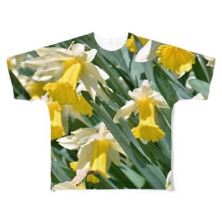 SUISEN Full graphic T-shirts