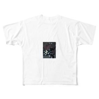 発情期 Full graphic T-shirts