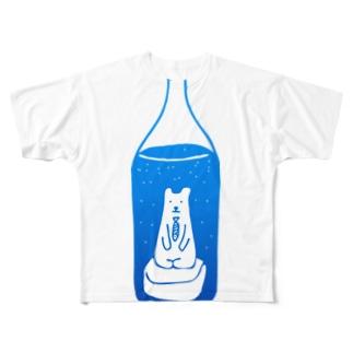 瓶熊 Full graphic T-shirts