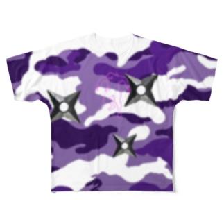 No.56 Full graphic T-shirts