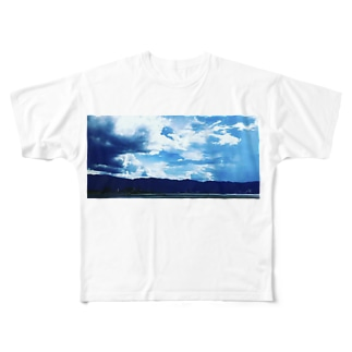 そらとみずうみ Full graphic T-shirts