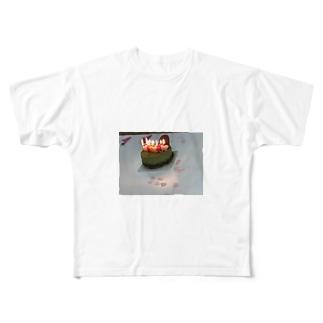 ら Full graphic T-shirts