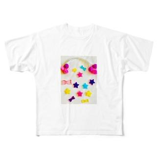 ☆スター☆ Full graphic T-shirts