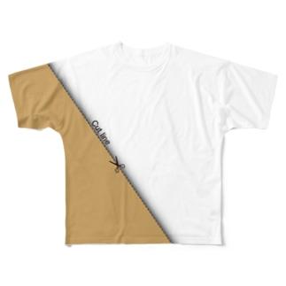 CUT LINE T-shirt Full graphic T-shirts