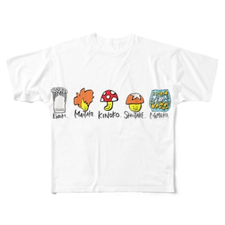 KINOKO.シリーズ Full graphic T-shirts