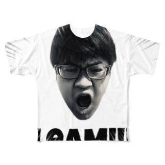 ボッピン×LeaM SCLeaM!!!  Full graphic T-shirts