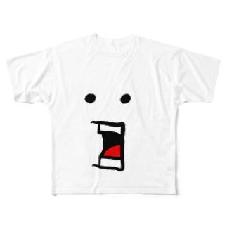 FOOLさんドデ顔 Tシャツ Full graphic T-shirts