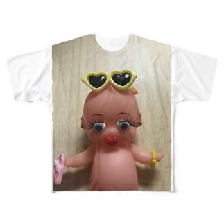 カスタマイズピー Full graphic T-shirts
