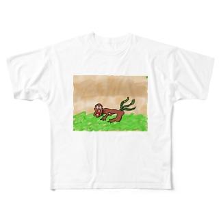 ガンバ君 Full graphic T-shirts