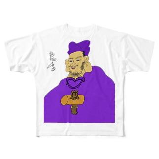 JUNSENSETA(瀬田純仙)大黒様MAX令和元年に君臨 COOL JAPAN Full graphic T-shirts