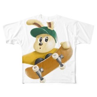 JUMP!JUMP! Full graphic T-shirts