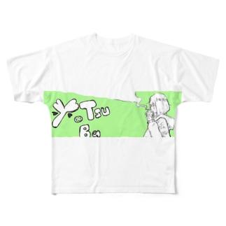 四葉 グッズ Full graphic T-shirts