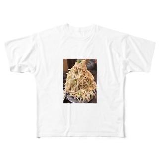 野菜マシマシ Full graphic T-shirts