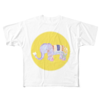 ロムパットくん Full graphic T-shirts