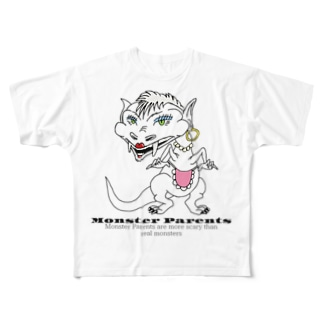 Monster Parents Full graphic T-shirts