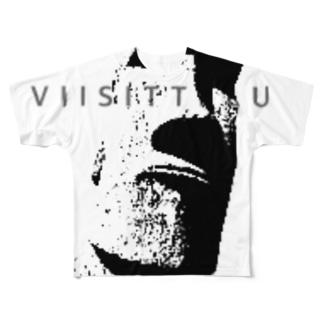 モアイ Full graphic T-shirts