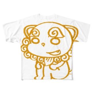 シーサーくん Full graphic T-shirts