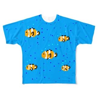 クマノリウム Full graphic T-shirts