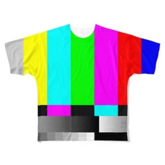 カラーバー改 Full graphic T-shirts