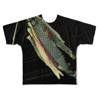鯉のぼりグッズ Full graphic T-shirts
