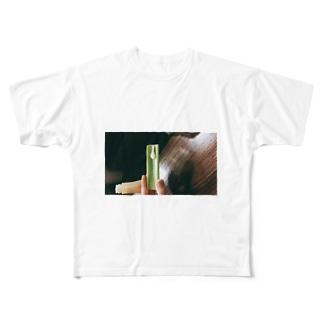 破壊 Full graphic T-shirts