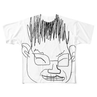 俺 Full graphic T-shirts