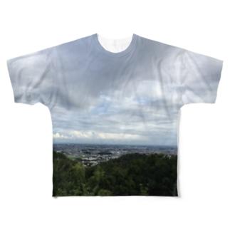 自然の恵 Full graphic T-shirts