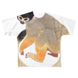 ボリビアリスザル Full graphic T-shirts