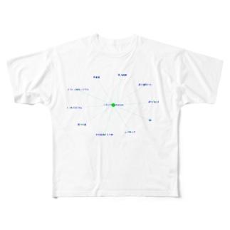 ニホニウム nihonium 元素 Full graphic T-shirts