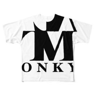 ロゴT① Full graphic T-shirts