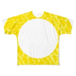 輪っかパイン Full graphic T-shirts