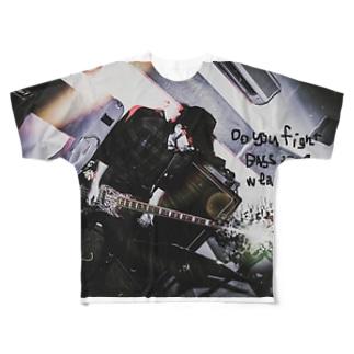 【Pシャツ】Ba.修 × エロックンドールズ001 Full graphic T-shirts