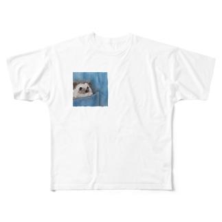 ポケットRICEくん Full graphic T-shirts