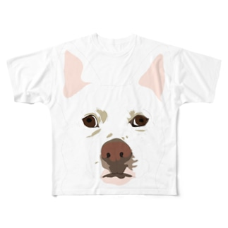 haru Full graphic T-shirts