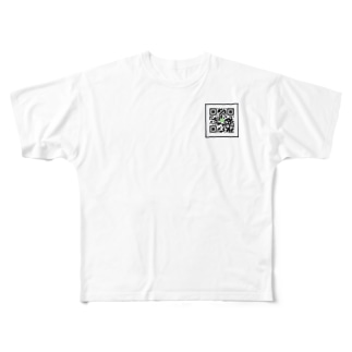 QRな世界 Full graphic T-shirts