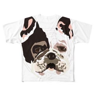 akya Full graphic T-shirts