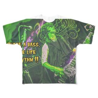 【Pシャツ】Ba.修 x エロックンドールズ004 Full graphic T-shirts