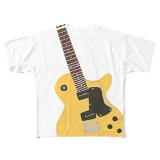 ギター Full graphic T-shirts
