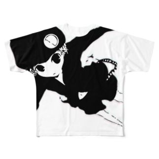 D-ghost Full graphic T-shirts