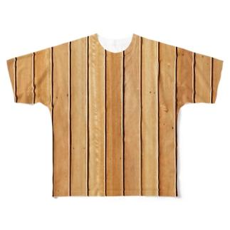 サウナ室 Full graphic T-shirts