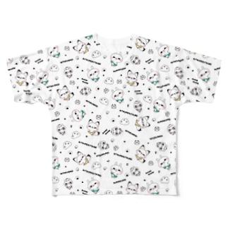 ひとえうさぎ  Full graphic T-shirts