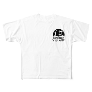 Holiday Village オリジナル Full graphic T-shirts