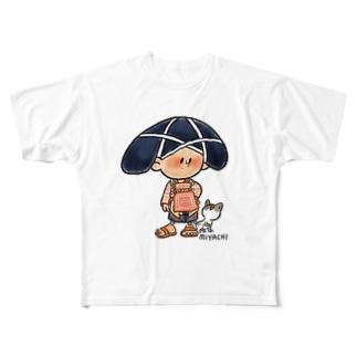 民族衣装 Full graphic T-shirts