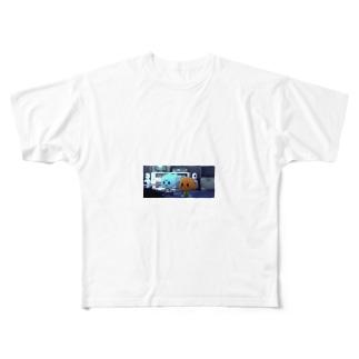 ガムボール Full graphic T-shirts