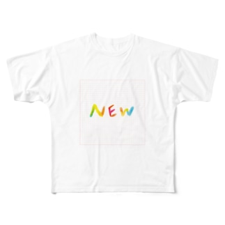 NEWグッズです Full graphic T-shirts